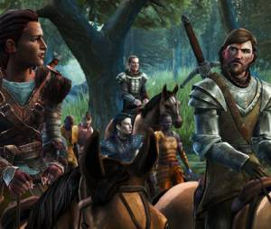 "Screenshot do último episódio de ""Game of Thrones: A Telltale Games Series"""