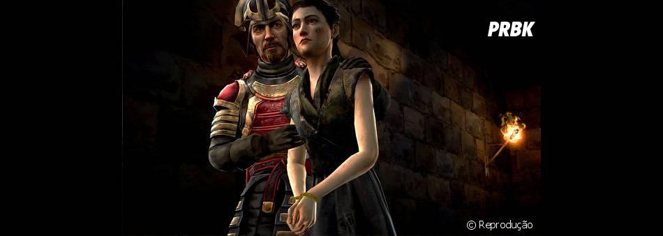 """A conduta dos irmãos Forrester até agora vai definir o desfecho de """"Game of Thrones: A Telltale Games Series"""""""