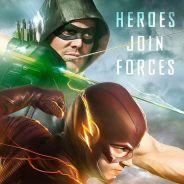 """Crossover de """"Arrow"""" e """"The Flash"""" ganha novo pôster promocional com os dois heróis!"""