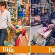 É melhor ir no mercado com a sua mãe ou pai?