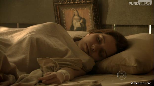 "Silvia (Nathalia Dill) acordará em ""Joia Rara""!"