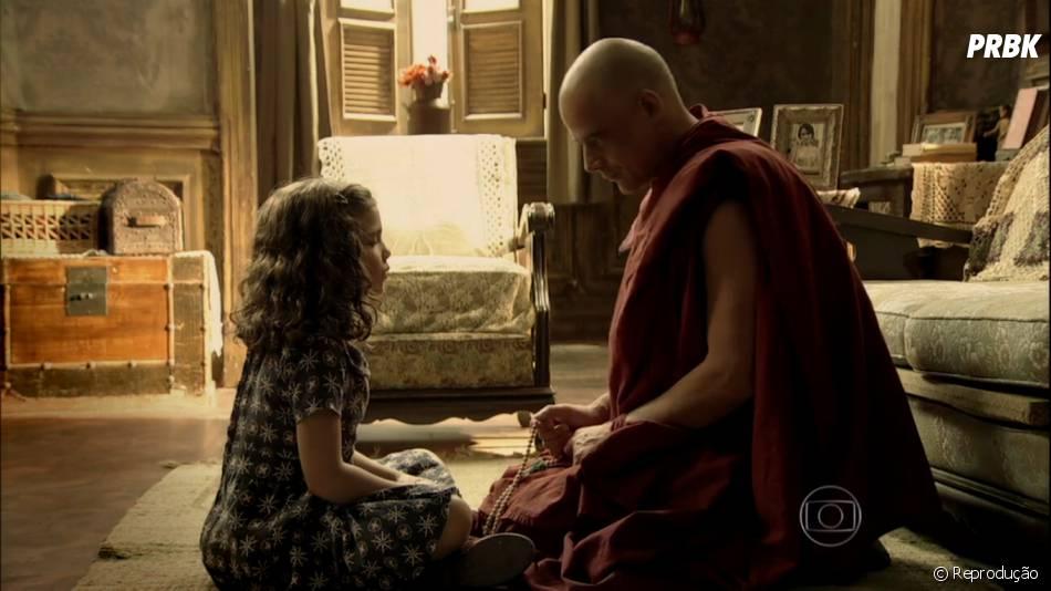 """Pérola (Mel Maia) descobrirá que Silvia (Nathalia Dill) está viva em""""Joia Rara"""""""
