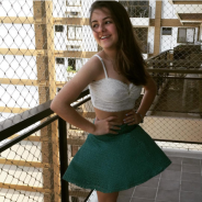 """Klara Castanho, de """"Além do Tempo"""", se inspira no estilo de Marina Ruy Barbosa e Camila Coelho"""