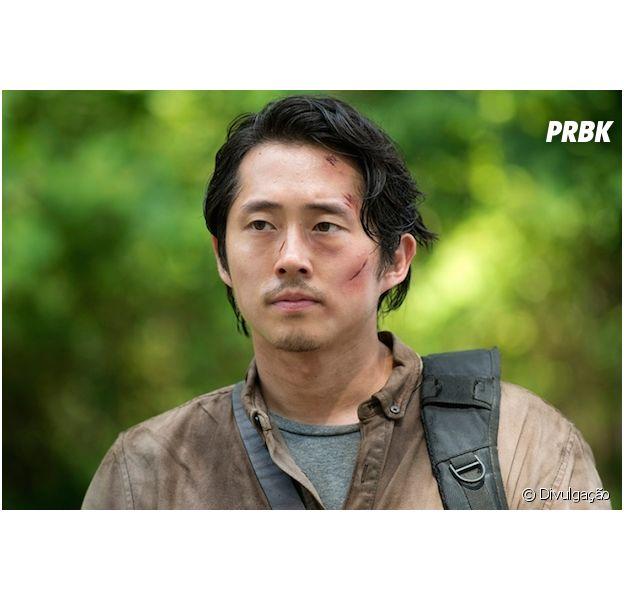 """Em """"The Walking Dead"""": futuro de Glenn (Steven Yeun) é desvendado!"""