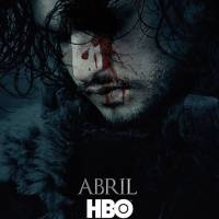 """Em """"Game of Thrones"""": na 6ª temporada, Jon Snow aparece no primeiro pôster da nova fase!"""