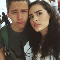 """Novela """"Malhação"""": Julia e Artur estão em crise, mas Lívian Aragão e Gabriel Kaufmann são BFF!"""