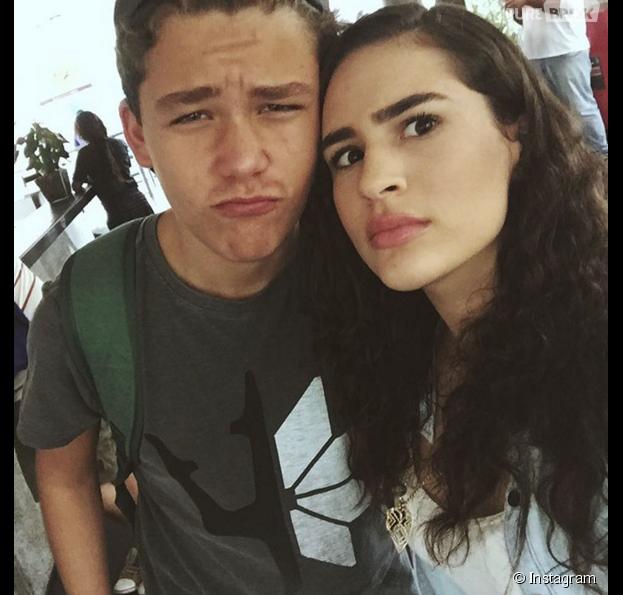"""Lívian Aragão e Gabriel Kaufmann são muito amigos por trás das câmeras de""""Malhação"""""""