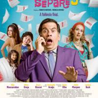 """Sequência """"Até que a Sorte nos Separe 3"""", com Leandro Hassum, ganha novo cartaz hilário"""