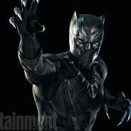 """Em """"Capitão América 3: Guerra Civil"""": Pantera Negra aparece em nova foto oficial!"""