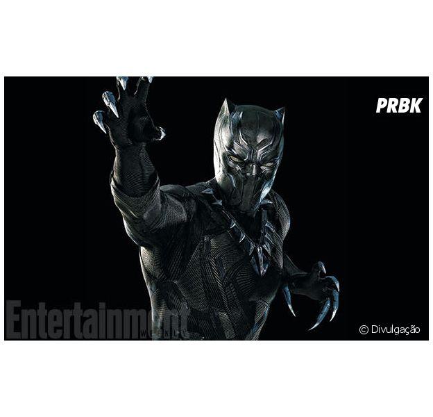 """Em """"Capitão América 3: Guerra Civil"""", veja detalhes sobre o Pantera Negra (Chadwick Boseman)!"""