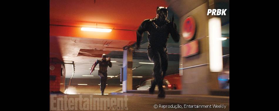 """Recentemente, """"Capitão América: Guerra Civil"""" divulgou o seu primeiro trailer"""
