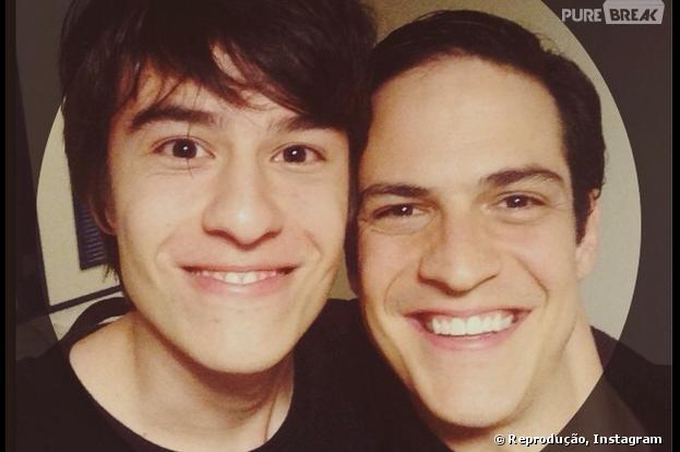 """Thalles Cabral é Jonathan, filho de Félix (Mateus Solano), em """"Amor à Vida"""""""
