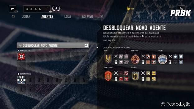 """De """"Rainbow Six: Siege"""": personalize seus agentes nesta tela"""
