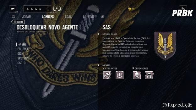 """De """"Rainbow Six: Siege"""": selecione um dos 20 agentes disponíveis"""