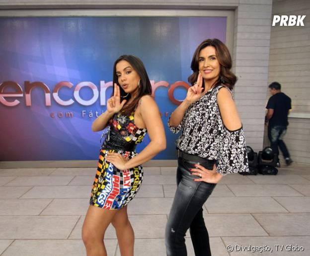 Anitta é a queridinha dos programas de TV, ela tá sempre aparecendo!