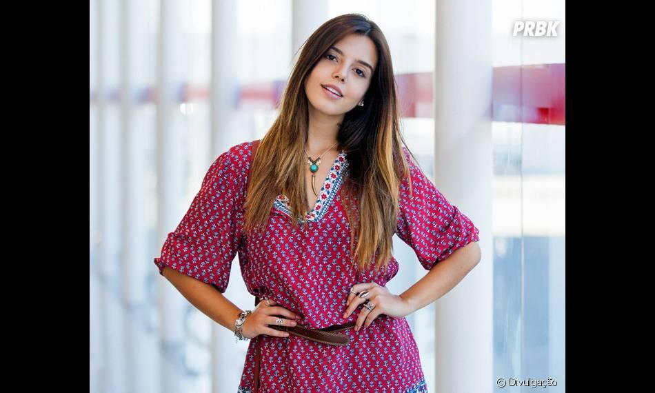 """Atualmente, Giovanna Lancellotti interpreta Luana em """"A Regra do Jogo"""""""