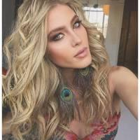 """Hanna Romanazzi, de """"Ligações Perigosas"""", revela o que pediu de Natal: """"Muita maquiagem!"""""""