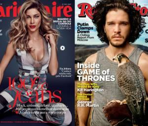 Grazi Massafera e Kit Harington são capa de várias revistas