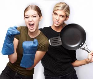 """As modelos Gigi Hadid e Devon Windsor vão se enfrentar em episódio do """"Celebrity MasterChef"""""""