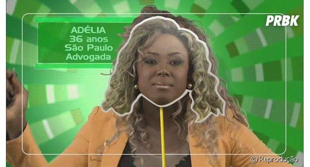 """Adélia é a primeira participante do """"BBB16"""" a ser anunciada"""
