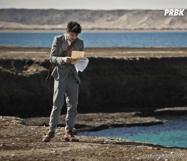 """Felipe (Jesuita Barbosa) lê cartas de Augusto (Selton Mello) com Isabel (Patricia Pillar) e promete vingança em """"Ligações Perigosas"""""""