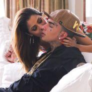 """MC Guime e Lexa dormem juntos e astro se declara para a cantora no Snapchat: """"Amor da minha vida"""""""