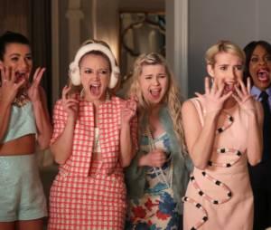 """De """"Scream Queens"""", Emma Roberts, Diego Boneta e elenco da série vêm ao Brasil para a """"Bloody Weekend""""!"""
