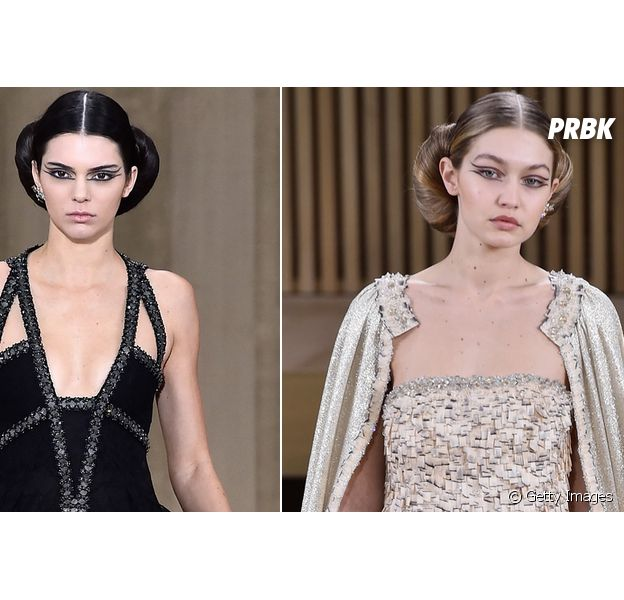 Kendall Jenner e Gigi Hadid são rostos da Chanel no Paris Fashion Week 2016