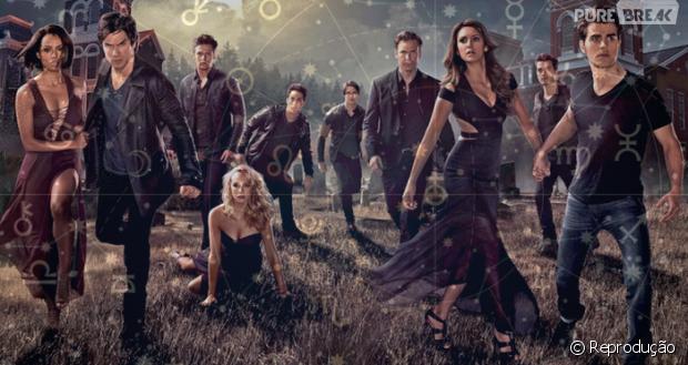 """Descubra qual personagem de """"The Vampire Diaries"""" representa seu signo"""