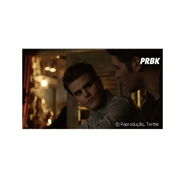 """Em """"The Originals"""" e """"The Vampire Diaries"""", crossover tem primeira imagem divulgada com encontro entre Klaus (Joseph Morgan) e Stefan (Paul Wesley)"""