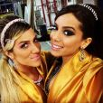 Anitta arrasa com qualquer look! Quem sabe uma inspiração das arábias?