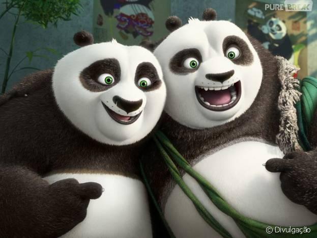 """""""Kung Fu Panda 3"""" é o filme mais assistido nos Estados Unidos"""
