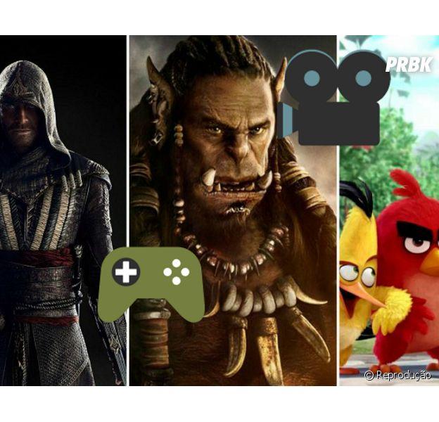 Confira os jogos que vão fazer os gamers saírem de casa e se divertiremtambémnos cinemas!