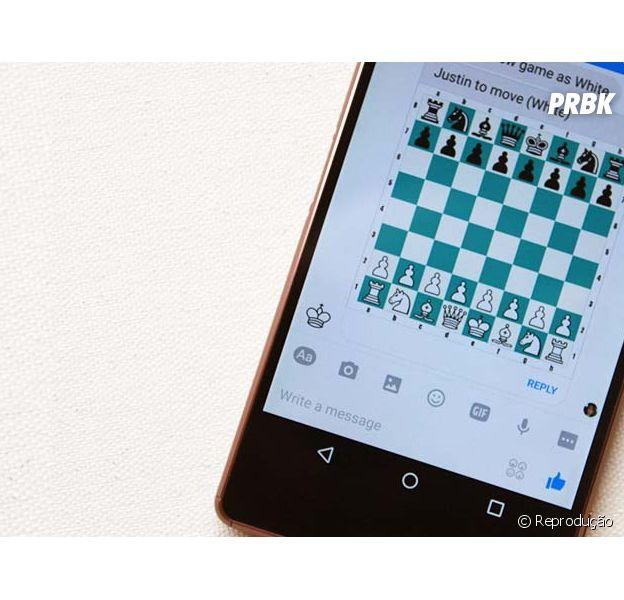 Xadrez no Facebook Messenger? Jogo escondido no mensageiro é descoberto!