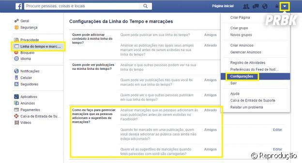 Remova suas marcações das fotos do Facebook!