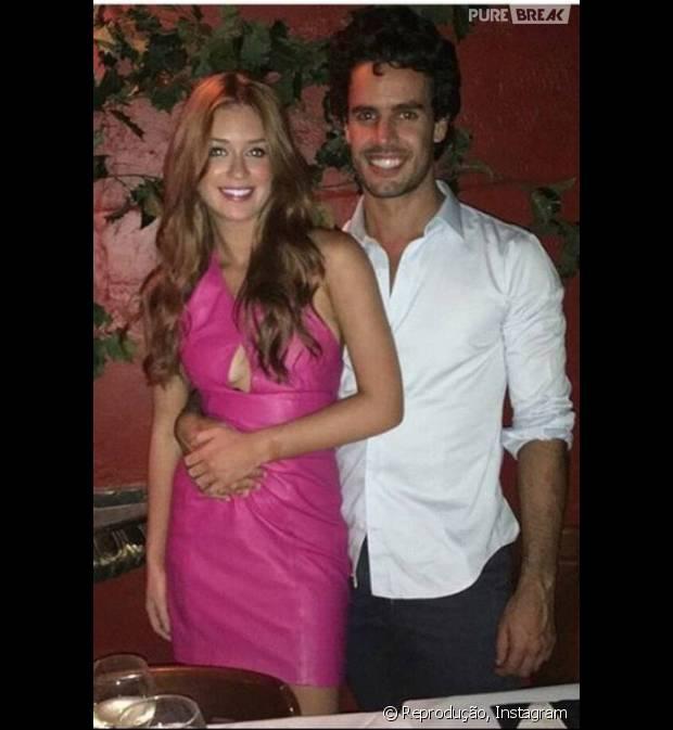 """Marina Ruy Barbosa e Xande Negrão posam juntos e piloto publica no Instagram: """"Coisinha"""""""