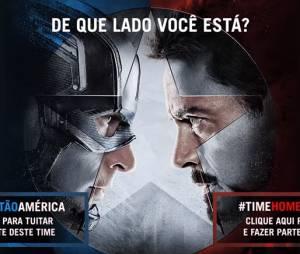 """Incrível luta ocorrerá no """"Capitão América: Guerra Civil"""""""