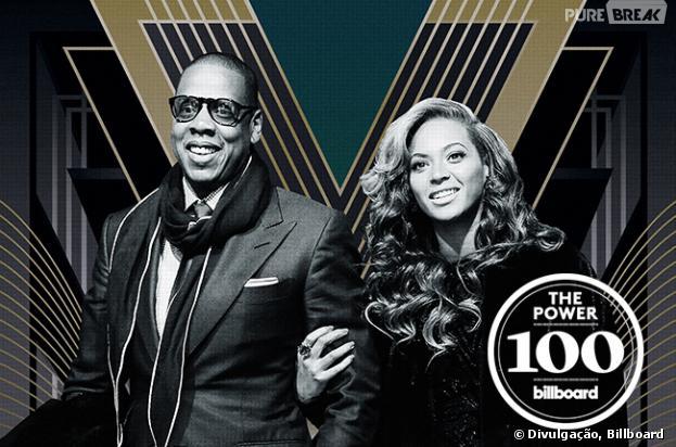 """Beyoncé e Jay-z são os mais poderosos, segundo a revista """"Billboard"""""""
