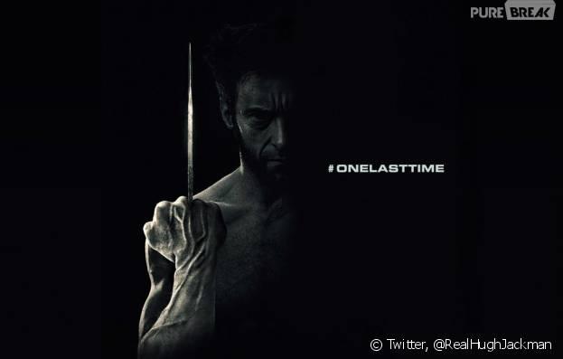 """Hugh Jackman já publicou a primeira foto de """"Wolverine 3"""", último filme no qual vai interpretar o herói"""