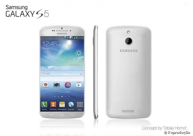 Chineses já estão fazendo o clone do Galaxy S5 (imagem conceitual)