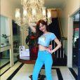 Maria Eugenia Suconic posa com look fofo e publica nas redes sociais