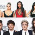 """Fifth Harmony e One Direction são exemplos de bandas de sucesso formadas no """"The X Factor"""""""