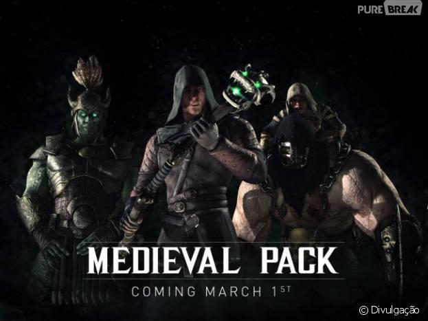 """De """"Mortal Kombat X"""": pacote medieval é a nova expansão do jogo e será lançada no dia 1 de março!"""