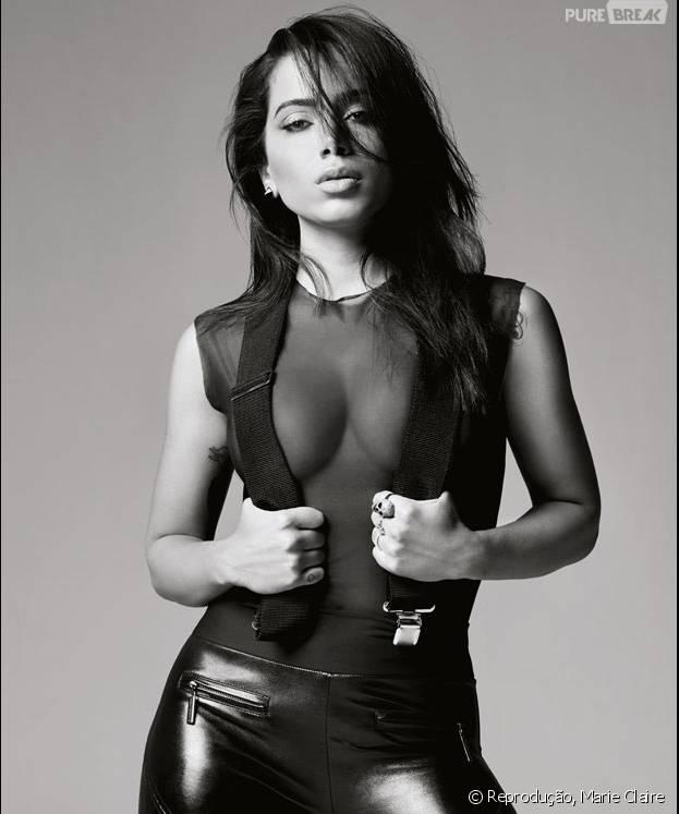 """Anitta, do hit """"Essa Mina é Louca"""", se chama Larissa de Macedo Machado. Veja o nome verdadeiro de outras celebridades"""