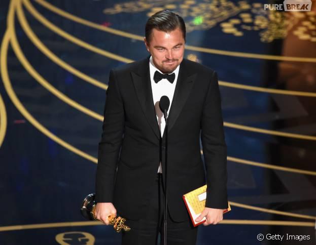 Leonardo DiCaprio finalmente levou o Oscar de Melhor Ator!