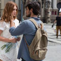 """Novela """"Totalmente Demais"""": Eliza (Marina Ruy Barbosa) e Jonatas trocam olhares em etapa do concurso"""