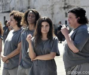 """Aline (Vanessa Giácomo) armou seu plano de fuga com as outras detentas em""""Amor à Vida"""""""