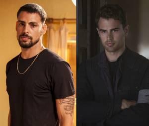 """Cauã Reymond e Theo James, que interpreta o Quatro em """"A Série Divergente: Convergente"""", parecem ter sido separados na maternidade!"""