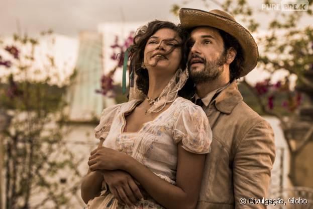 """Em """"Velho Chico"""": Afrânio (Rodrigo Santoro) e Leonor (Marina Nery) casam nos primeiros capítulos!"""