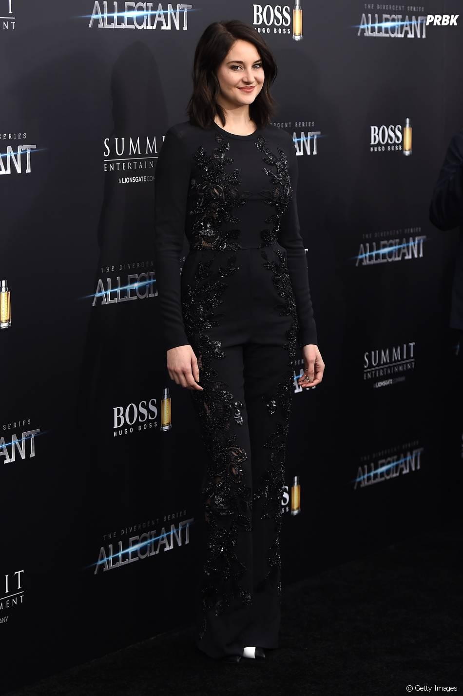 """Shailene Woodley interpreta a mocinha Tris, em """"A Série Divergente: Convergente"""""""